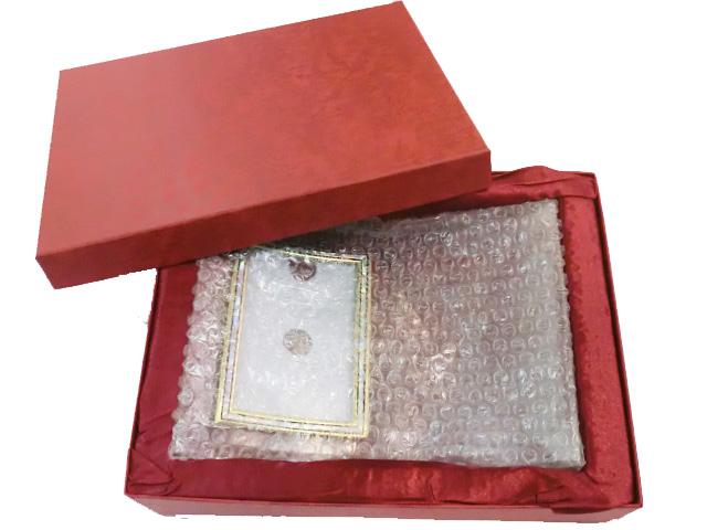 紅色高級化粧箱(オープン)